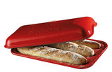 Emile Henry Baguettesvorm E-box 390x240mm Grand Cru (9506-34)_