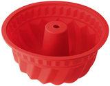 Dr Oetker Tulbandvorm siliconen 22 cm rood_