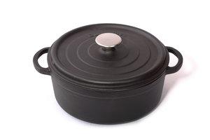 Surel Braadpan 28cm mat zwart