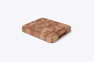 Butler Snijplank Beuk kops met ril 31x27,5x4cm