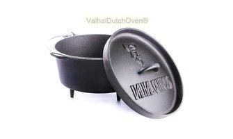 Valhal Dutch Oven 13L met pootjes