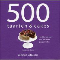 500 taarten & cakes receptenboek