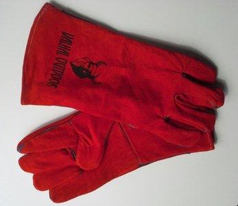 Valhal vuurvaste handschoenen kleur rood