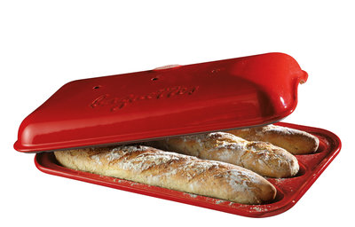 Emile Henry Baguettesvorm E-box 390x240mm Grand Cru (9506-34)