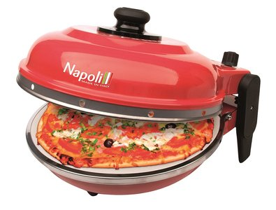 Optima Napoli Pizza Express steenoven rood