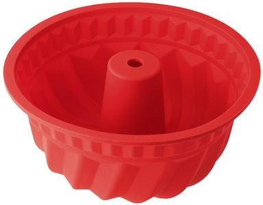 Dr Oetker Tulbandvorm siliconen 22 cm rood
