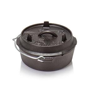 Petromax Dutch Oven ft3-t 2L zonder pootjes
